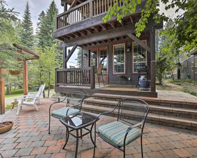 New! Chic House w/ Patio; 2 Blocks to Payette Lake - McCall