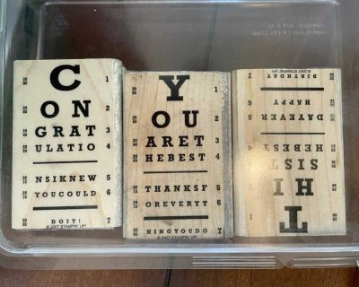 Off the Chart Rubber Stamp Collection