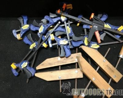 FS/FT WOW! >>JORGENSEN and IRWIN Wood-Working CLAMPS<< OBSCENE PRICE!!