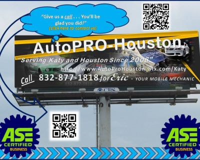 We do it ALL for LESS @ AutoPRO-Houston Since 2006 - and Mobile too!