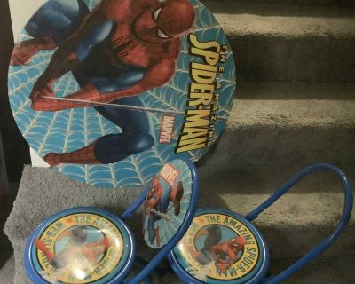 Spider man table