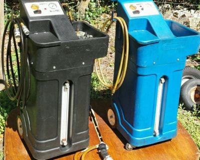 Wynn's coolant and transmission flush machines.