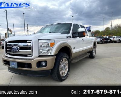2011 Ford F250SD King Ranch Crew Cab 4WD