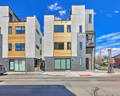 NEW! Modern Townhome w/ Rooftop + Mountain Views! - Berkeley