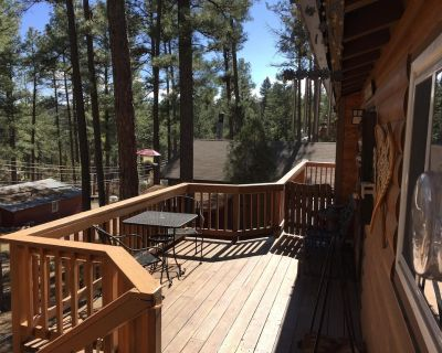Wood Cabin, Full Amenities, Family Friendly and wifi access - Ruidoso