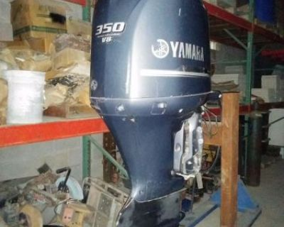"2008 Yamaha V8 350 Hp 25"" Shaft, Efi 4 Four Stroke, Outboard Motor"