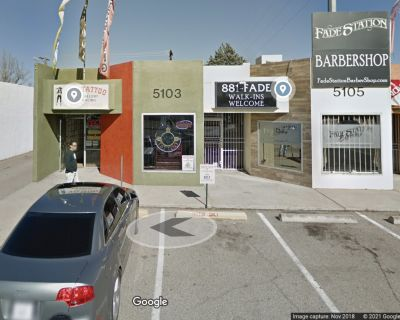 Affordable retail space with Menaul visibility