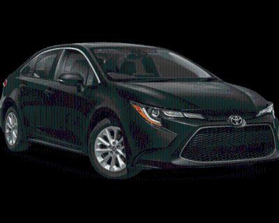New 2022 Toyota Corolla XLE FWD 4dr Car
