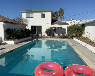 Modern Family home with large pool - 10 min to Beach, Santa Monica,Venice - Del Rey