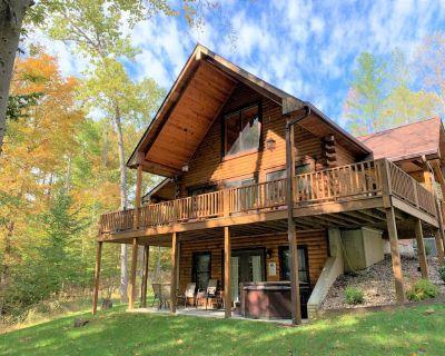 3 Irish Sons Log Cabin located between Bloomington, Nashville & Lake Lemon! - Nashville