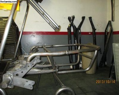 cage style rear bumper kit