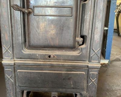antique Riverside wood burning stove