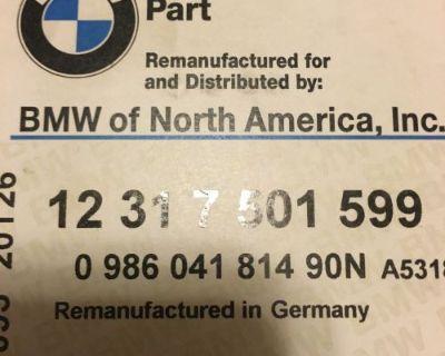 E39 E46 E53 Z3 Oem Bmw Alternator Rebuilt Bosch Part Number 12317501599