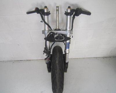 2006 Cbr1000rr Cbr 1000rr Cbr1000 Front End Forks Suspension W/ Wheel Controls O