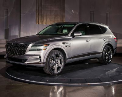 New 2021 Genesis GV80 3.5T with Navigation & AWD