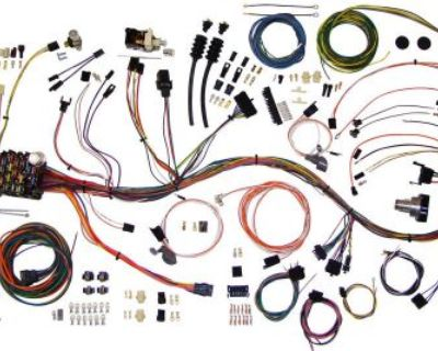 67-68 Gm Pickup Truck Wire Wiring Harness Aaw Classic Update 510333
