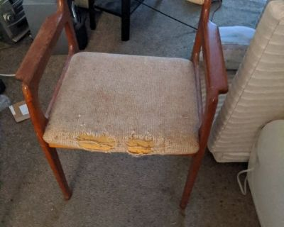 Chairs may be danish teak or similar