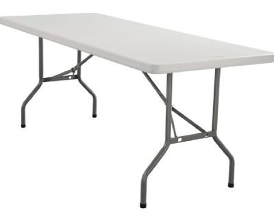 Plastic Folding Table - Folding Chairs Tables Larry