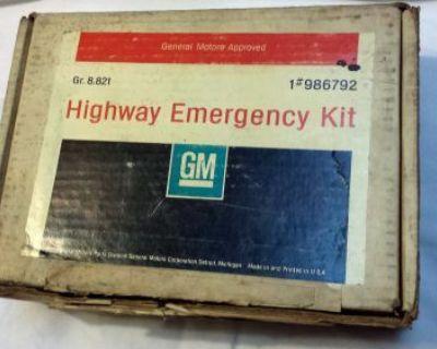 Gm Nos 66 67 68 69 70 71 Corvette Highway Emergency Kit Camaro Nova 986792