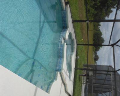 Big South-facing Pool/Mickey Mouse Jacuzzi Facing Nature Area - INCLUSIVE RATES! - Orange Tree