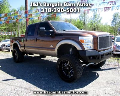 Used 2011 Ford F-250 SD King Ranch Crew Cab 4WD