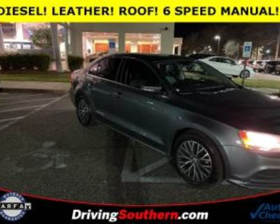 2015 Volkswagen Jetta TDI SE with Connectivity Manual