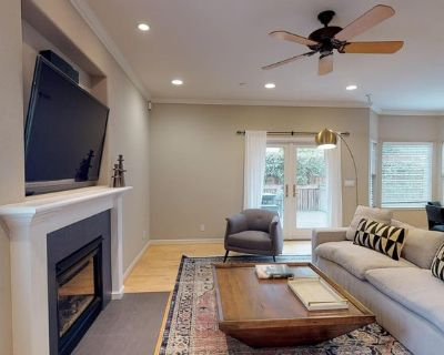 Elegant Sunnyvale home with backyard patio