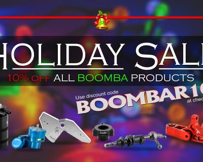 Boomba Racing 2020 Holiday Sale!