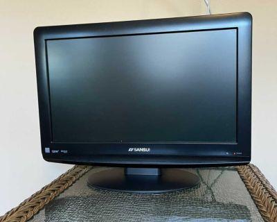 19 Inch Sansui Flat Screen Tv
