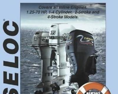 Repair Manual Johnson Evinrude 1.25-70 Hp (1990-2001), Seloc 1312