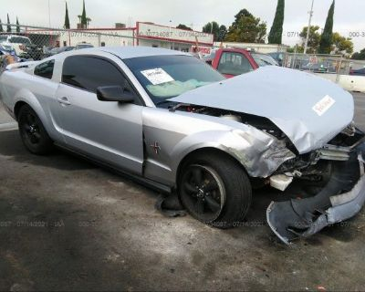 Salvage Silver 2006 Ford Mustang