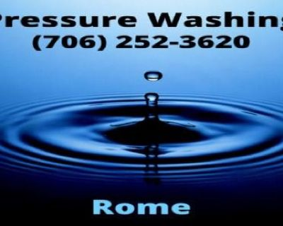 Pressure Washing Rome