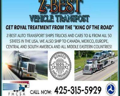 Full service shipping auto car truck transporte