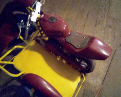 49cc pocket bike sidecar
