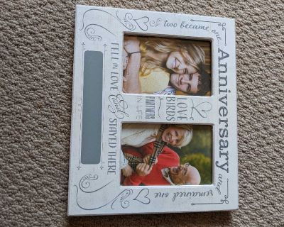 Anniversary picture frame, new