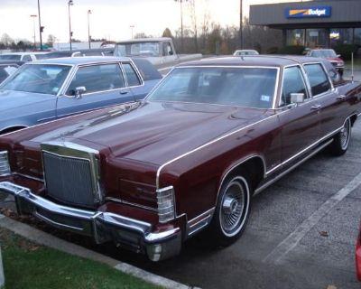 1979 Lincoln Town Car Town Car