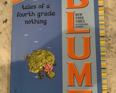 JUDY BLUM TALES OF A FOURTH GRADE NOTHING PAPERBACK BOOK. CP