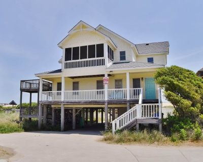 Fabulous oceanfront home, beautifully decorated with ocean to sound views. - South Nags Head
