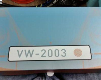 Rare end of the bug Era 2003 promo book in german
