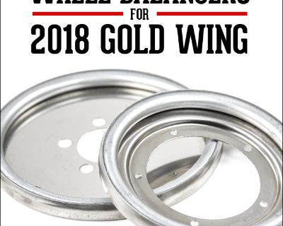Centramatic Wheel Balancers for the 2018 Gold Wing Available Now!