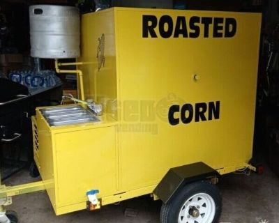 NEW 2020 Corn Roaster Trailer with Removable Trailer Hitch for sale in Texas!