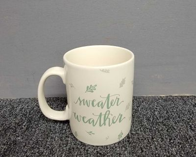 Primitives By Kathy Sweater Weather Large Coffee Cup