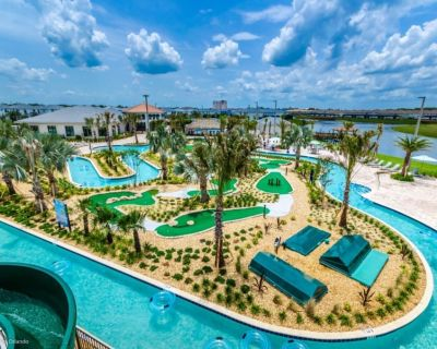 Enjoy a Holiday of a Lifetime in a Luxury Mansion on Storey Lake Resort, Orlando Mansion 3675 - Kissimmee