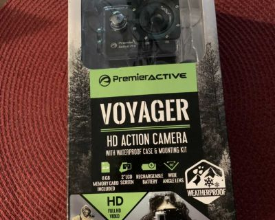 Voyager HD Action Camera with waterproof case & mounting kit