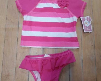 NWT 12 month bathing suit UPF 50+