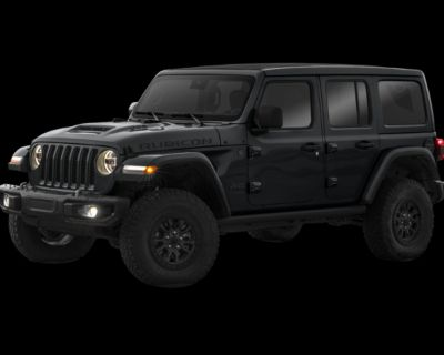 New 2021 Jeep Wrangler Unlimited Rubicon 392 4WD 4D Sport Utility