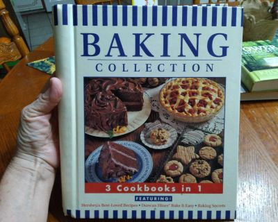 Baking Collection 3 cookbooks in 1