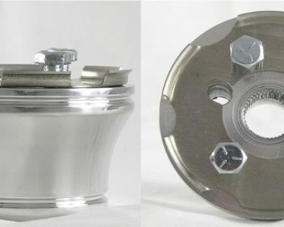 Club Car Steering Wheel Adapter (3 Hole) Billet Aluminum ~fits 84 & Up Carts~