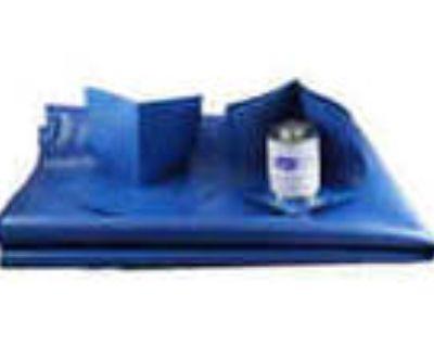 Shower Pan Liner Kit 20 Sq Blue Vinyl Shower Pan Membrane