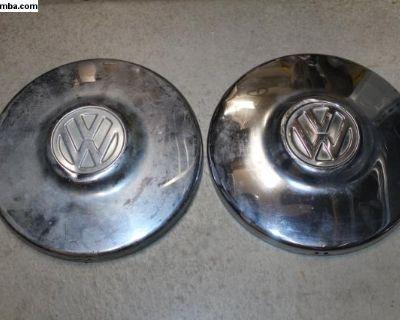 Good 66-67 Type 3 Hubcaps